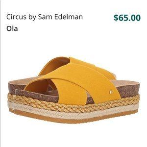 Circus by Sam Edelman Ola yellow sandals